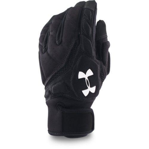Boy/'s Under Armour Combat Football Gloves White//Black//White
