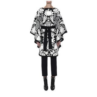 ALEXANDER MCQUEEN, Top, Felted Naive Pagan Jacquard Cape