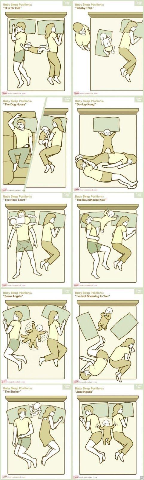 baby sleeping positions