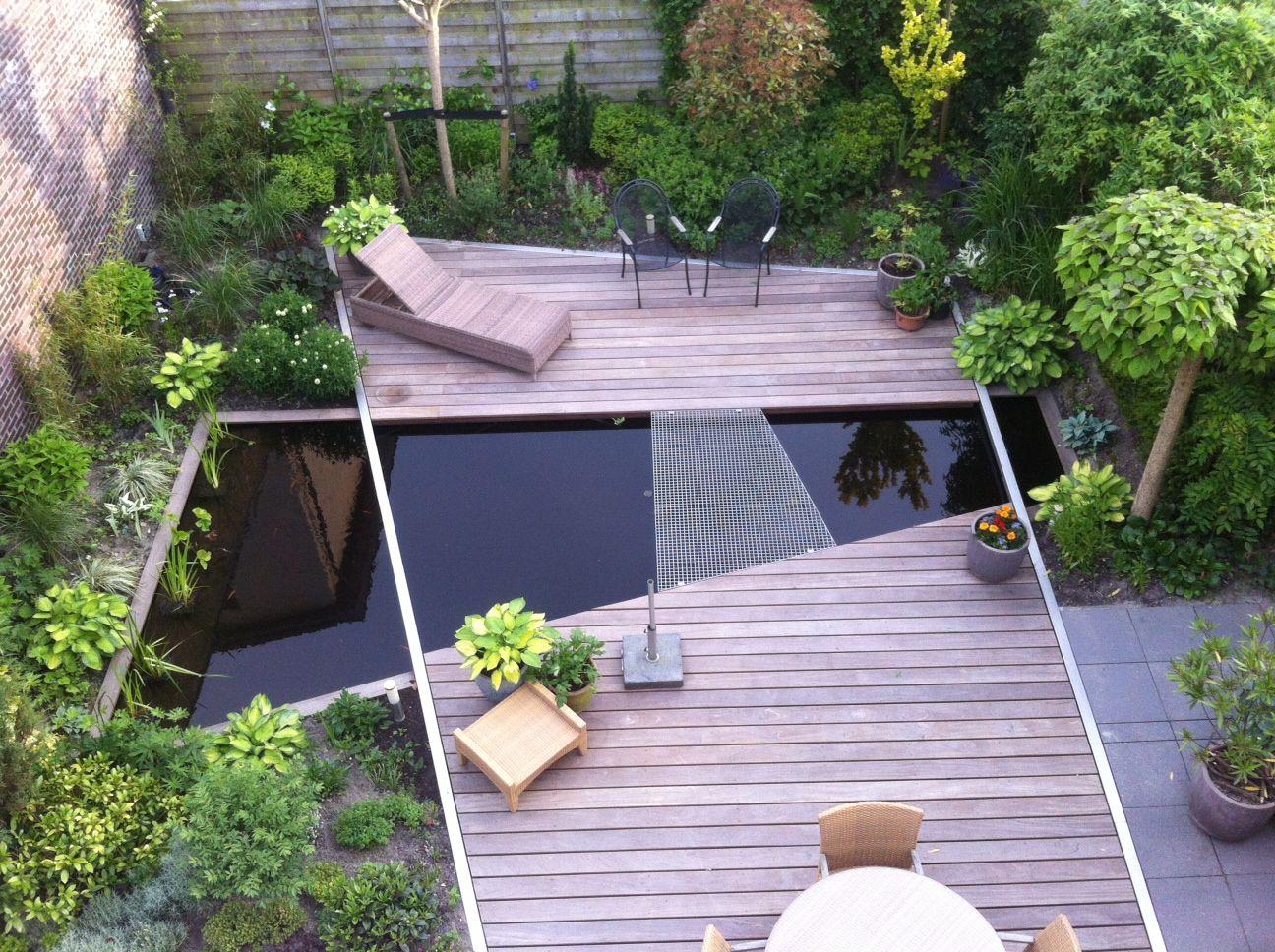 Mooi lijnenspel van de lindeloof tuinarchitect design for Tuinarchitect kleine tuin