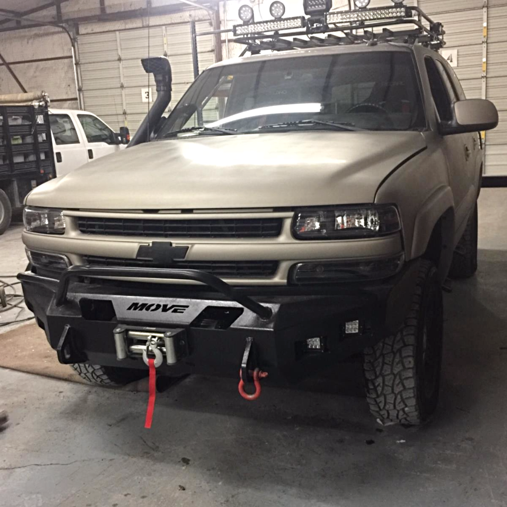 Customizable Wiy Front Prerunner Chevy Tahoe 2000 2006 Truck 2101 Move Bumpers Chevy Tahoe Chevrolet Tahoe Chevy Tahoe Z71