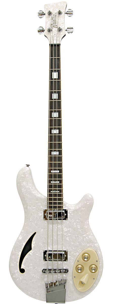 4 string bass guitar italia rimini bass 4 string bass guitar white pearloid bassscape 4. Black Bedroom Furniture Sets. Home Design Ideas