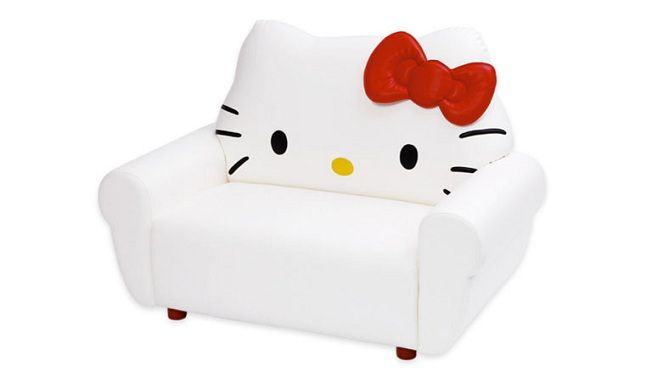 Small Sectional Sofa The Hello Kitty Sofa Makes for Some Comfortable Cat Loungers