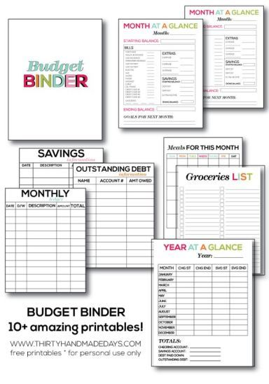 picture about Printable Budget Binder referred to as The Final Printable Spending plan Binder - giving 10+ outstanding