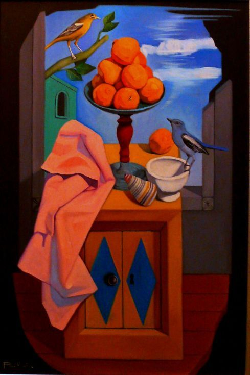 Buy Still Life With Oranges And Birds, Oil painting by Paul Rossi on Artfinder. Discover thousands of other original paintings, prints, sculptures and photography from independent artists.