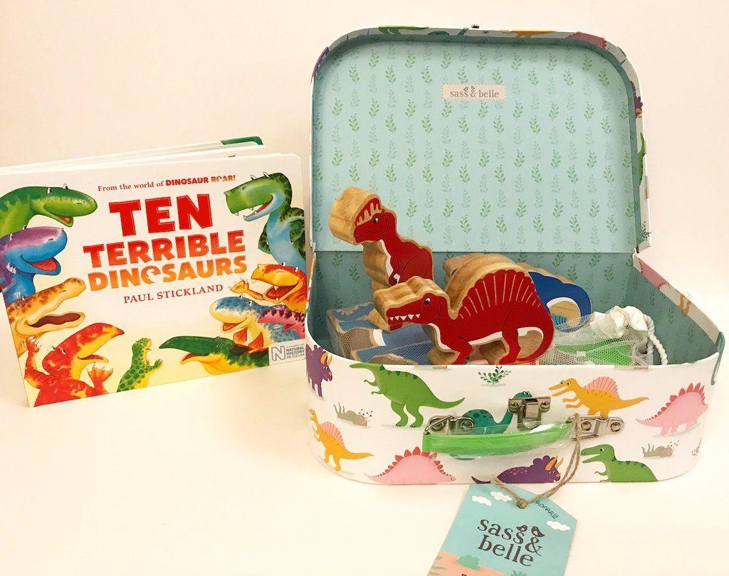 Ten Terrible Dinosaurs Story Suitcase In