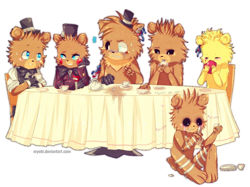 Five Nights at Freddy s Tea party