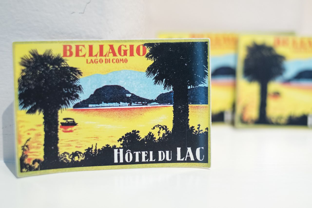 "#4134 Amsterdam Holland Carlton Hotel Vintage 2.5x3.5/"" Luggage Label Sticker"