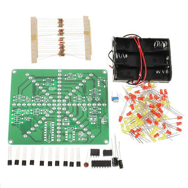 Eqkit Diy Led Lamp Kit Led Flash Set Electronic Production Kit Diy Electronic Kits From Electronic Components Supplies On Banggood Com In 2020 Led Diy Led Lamp Diy Diy Kits