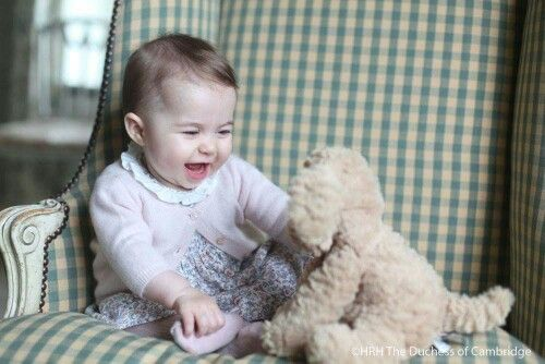 6 Month old Princess Charlotte, photos taken by her Mom, the Duchess of Cambridge, early November 2015.