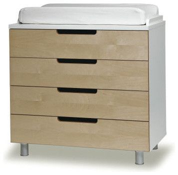 Oeuf 4 Drawer Changing Table Modern Changing Tables