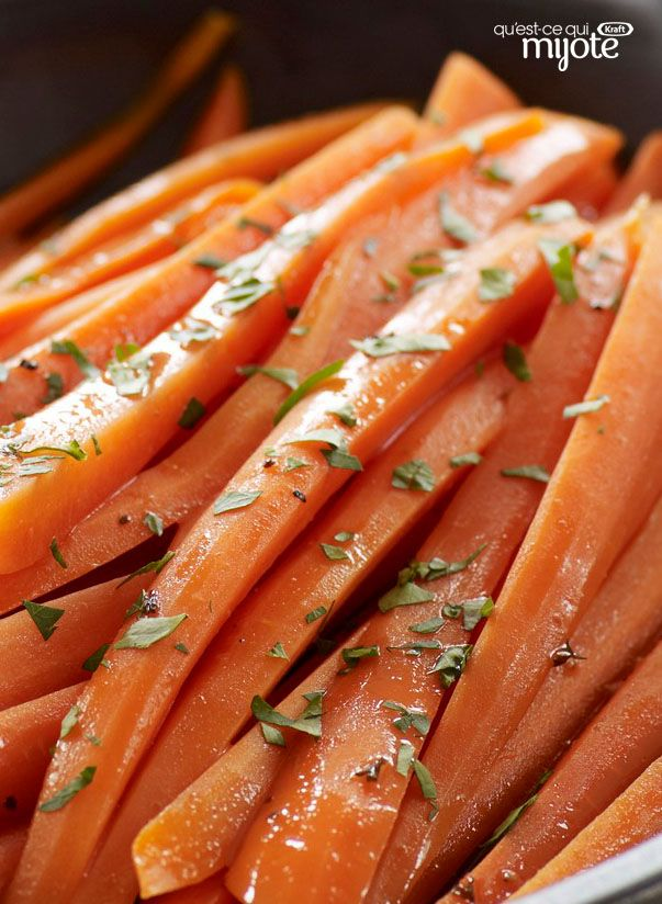 Carottes Glac 233 Es Au Balsamique Recette In 2019 Carrot