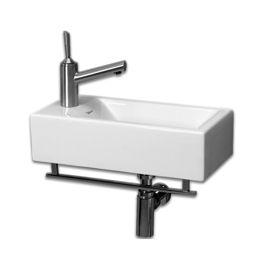 Isabella 19 75 Wall Mount Bathroom Sink Rectangular Sink