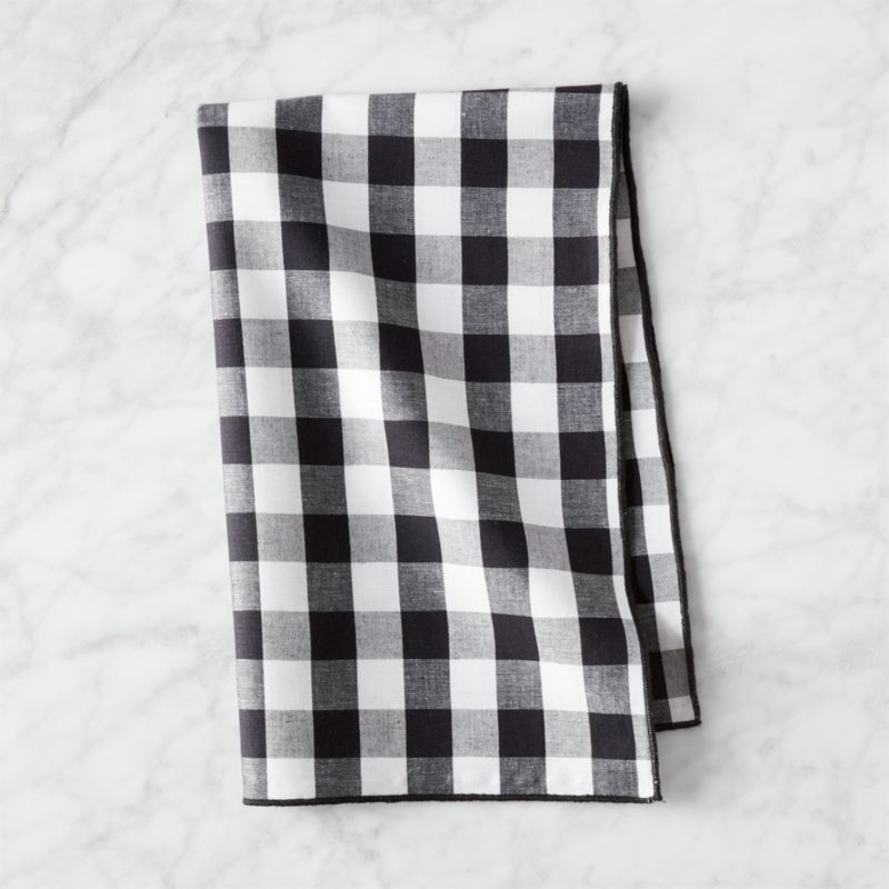 Black And White Gingham Dish Towel Dish Towels Kitchen Towels Small White Bathrooms