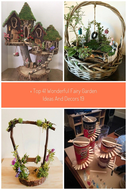 Top 41 Wonderful Fairy Garden Ideas and Decors  FieltroNet  FieltroNet garden  top 41 wonderful fairy garden ideas and decors 19