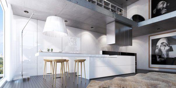 Wohnen · Traumhafter Wohnbereich Von Ando Studio   Kreative Wohnideen