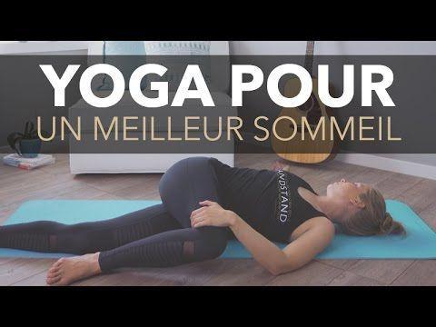 yoga pour un meilleur sommeil  youtube