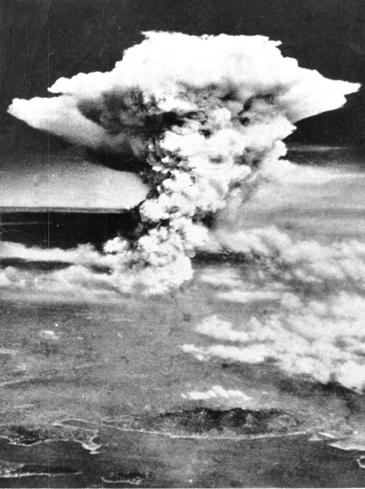 Bombing Of Hiroshima On August 6 1945 The Us Military Released A