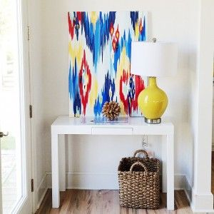 From BHG.com/blog Modern Abstract painting by Rita Ortloff