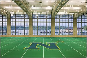 Wesley A Brown Field House Home Of Navy Volleyball And Indoor Track And Field Indoor Track United States Naval Academy Naval Academy