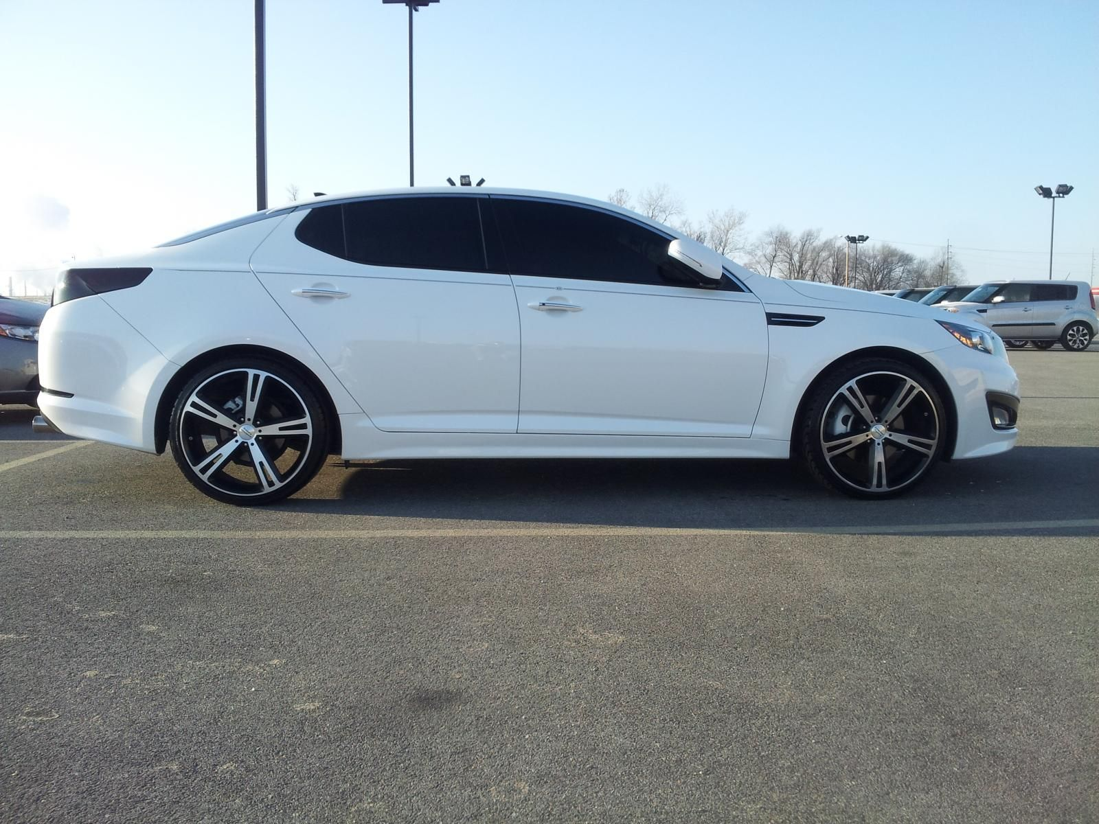 Kia optima murdered out oh my it doesn t get better than that cars pinterest kia optima cars and dream cars