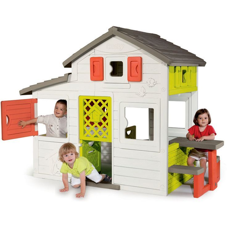 Cabane enfant Friends House SMOBY Spielhaus, Smoby