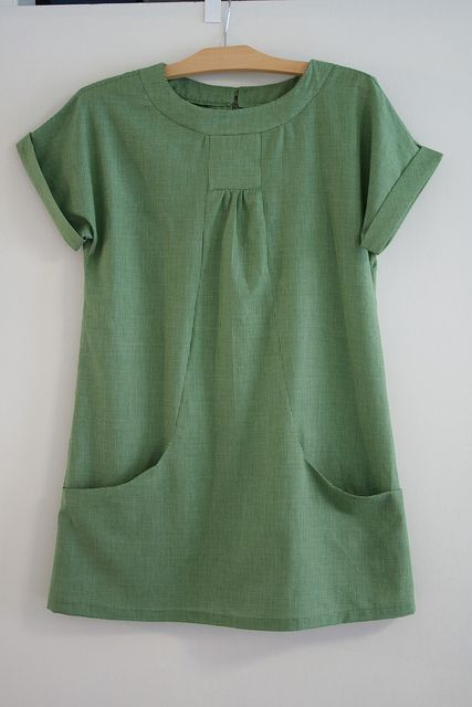 Portfolio Tunic, view B  from simplicity 2245; Lisette patterns