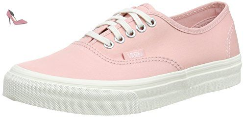 Vans Authentic Slim, Sneakers Basses mixte adulte, Rose