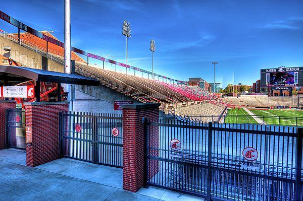 Wsu S Martin Stadium Pullman Washington State University Wsu