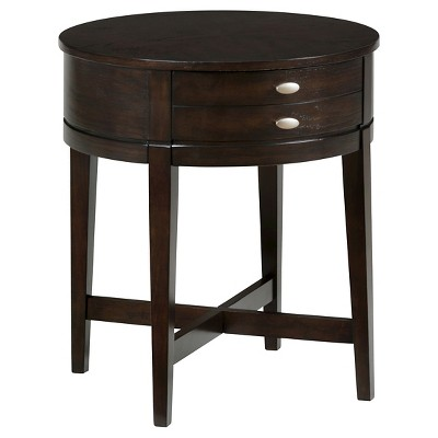 Kent County Round End Table Brown Jofran Inc. End