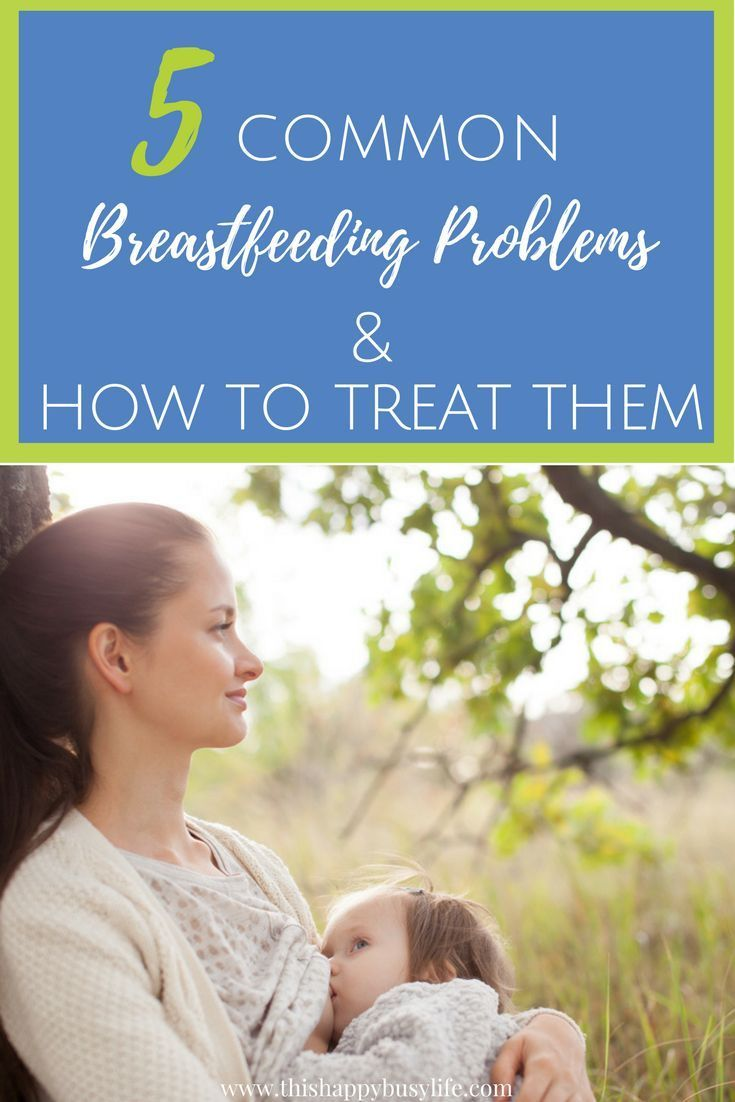 5 Common Breastfeeding Problems And How To Treat Them -1195