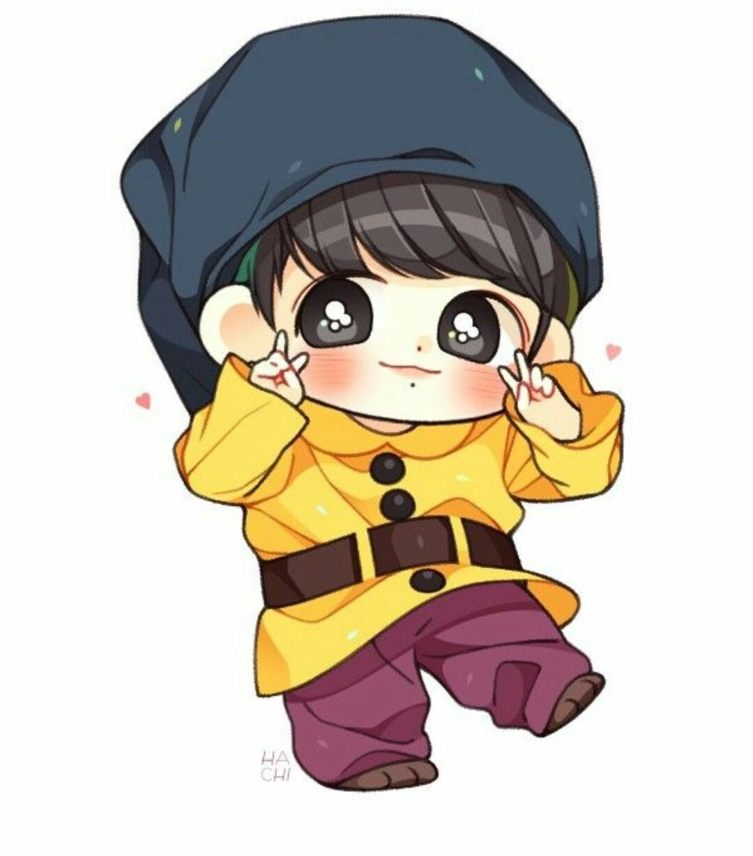 Pin By Eloシ On Fanarts Bts Chibi Chibi Cute Drawings