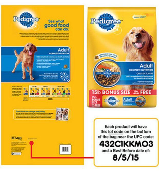 Pedigree Dog Food Recalled Due To Metal Fragments Food And Drug