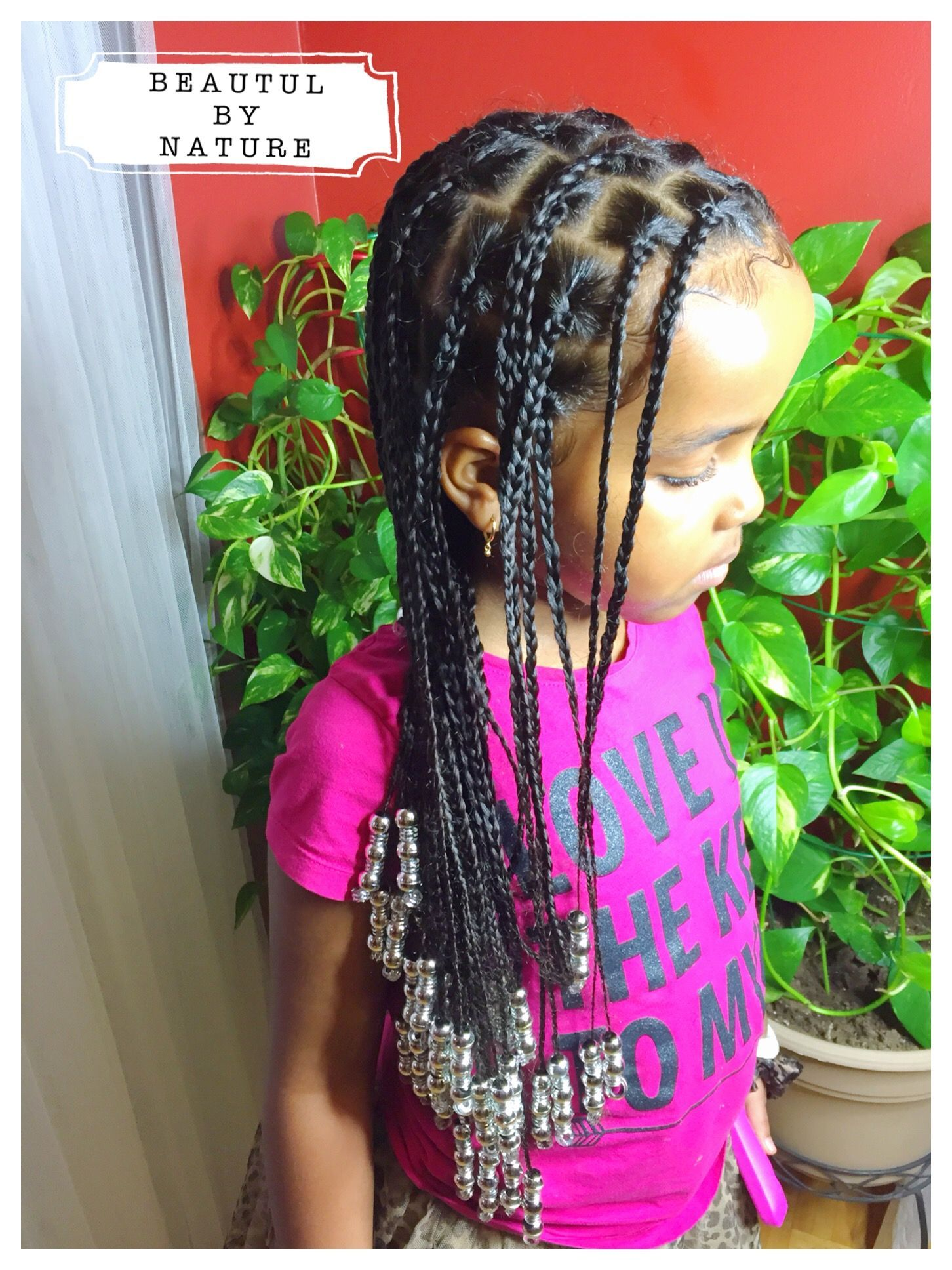 Natural hair box braids for kids instagram beautifulture