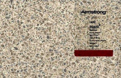 Linen And Terrazzo Look Vinyl Sheet Flooring In Aqua And
