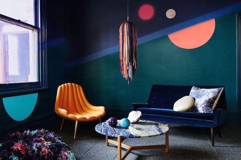 Deco Bleu Canard Idees Sur La Peinture Murale Les Meubles Et Les Objets Deco Maison 2018 Interieur Ontwerpen Decoraties Woonideeen