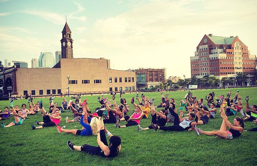Hoboken fitness in the park 2018 schedule of free workout