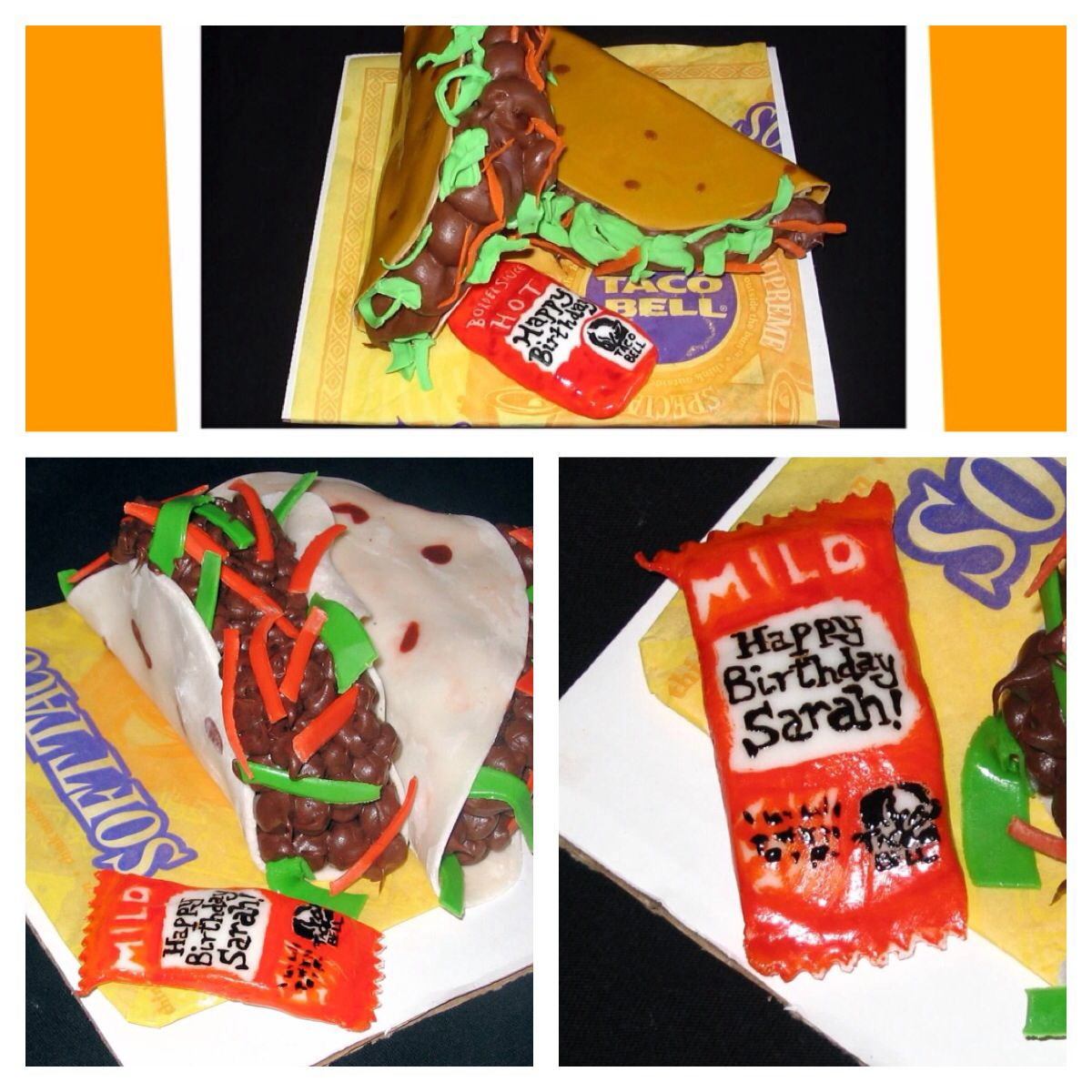 Pin by claire waldoch on cakes birthday wishes taco