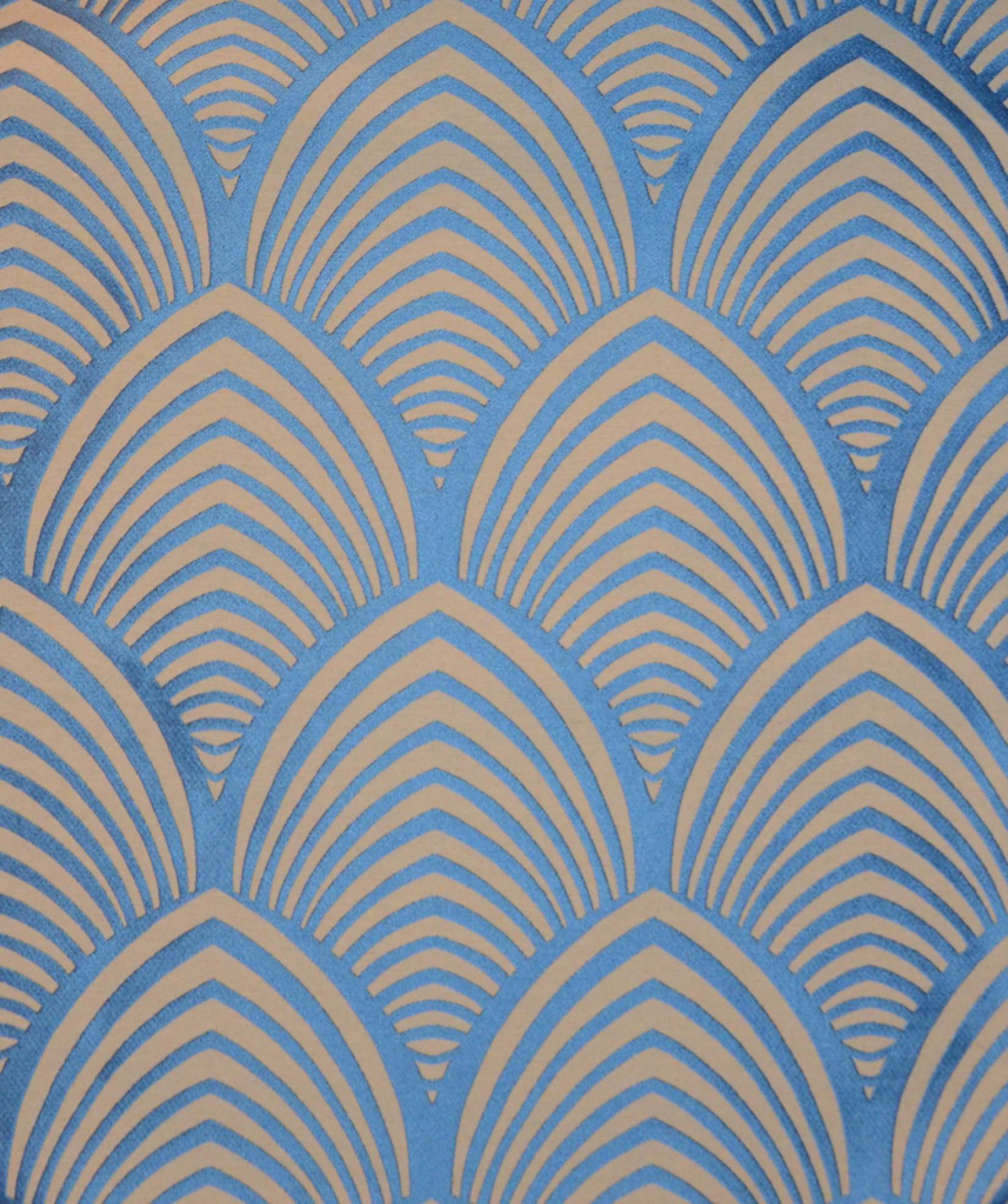 Edo Bleu Thevenon 1908 Fantasie Motivi Pinterest Papier