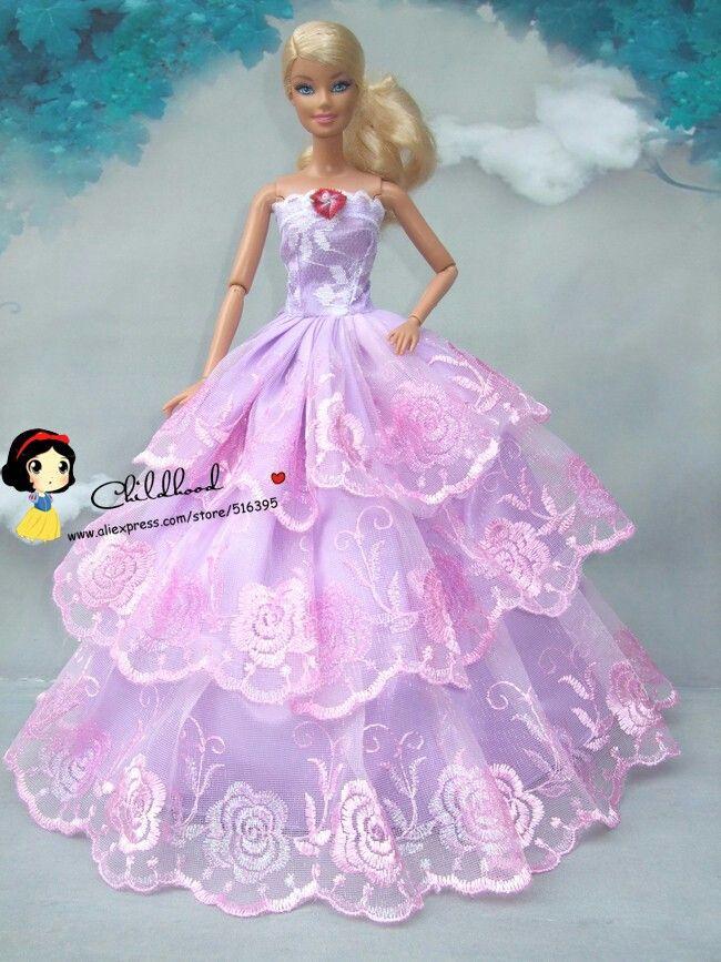 Pin by Sonja Dodson on dresses | Pinterest | Dolls, Barbie dress and ...