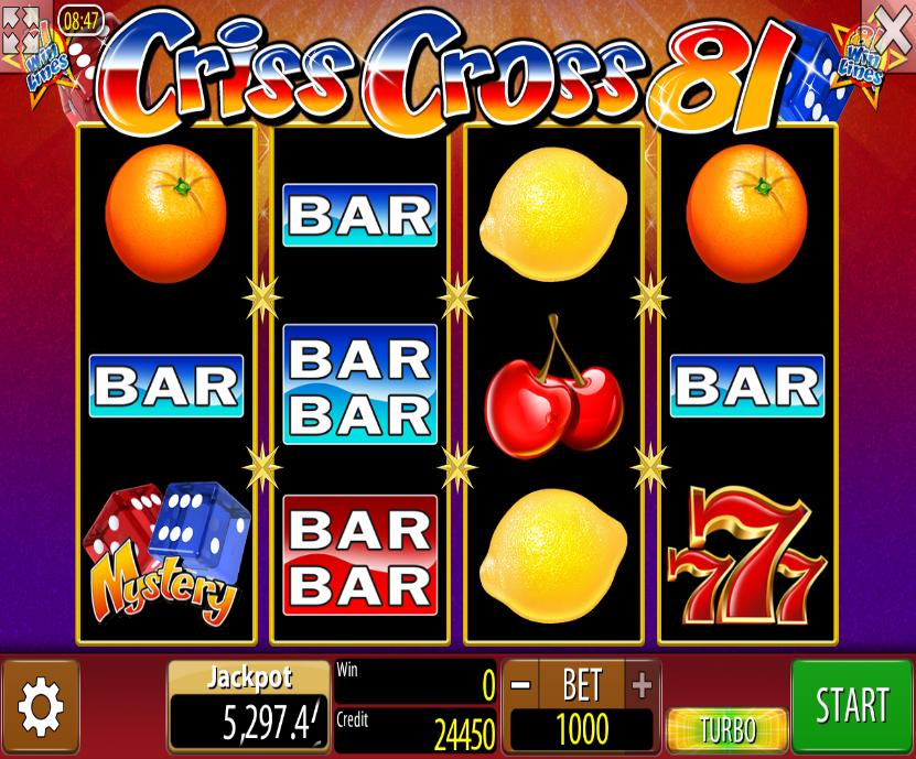 Criss Cross 81 - http://casinospiele-online.com/criss-cross-81-spielautomat-kostenlos-spielen/