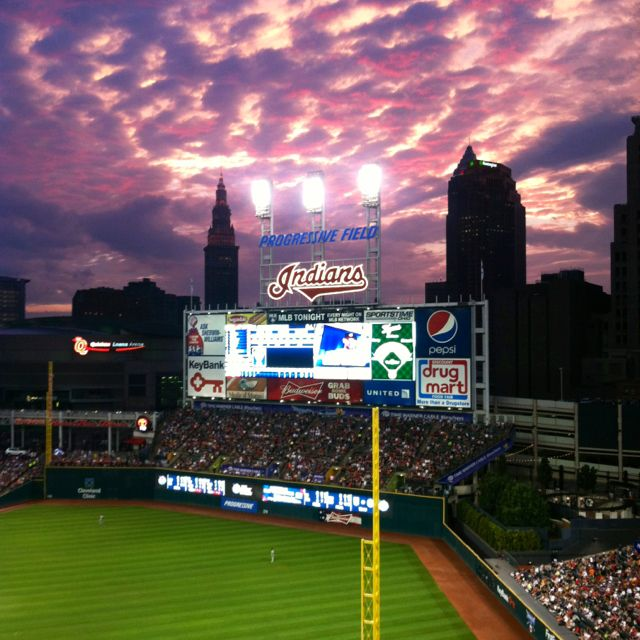 Cleveland Indians, Progressive Field... even though i will forever refer to it as The Jake