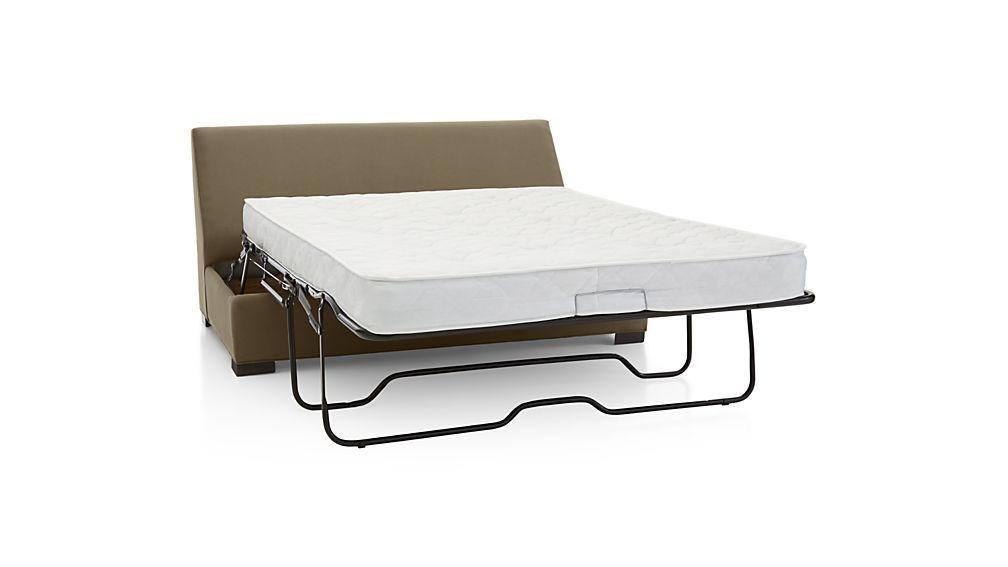 Axis Ii Full Size Armless Sleeper Sofa Crate And Barrel Stylish Sofa Bed Full Sleeper Sofa Sleeper Sofa