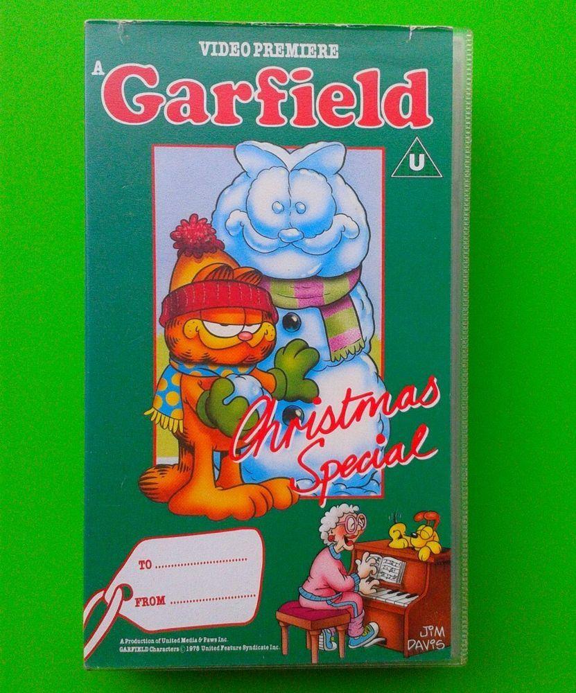 Garfield Christmas Video / Kids Childrens
