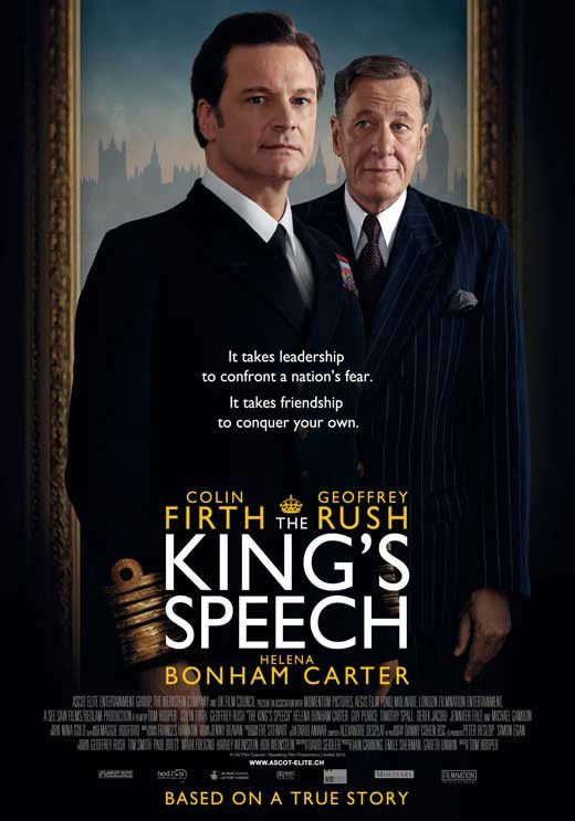 The Kings Speech Swiss 27x40 Movie Poster 2010 In 2019 Movies