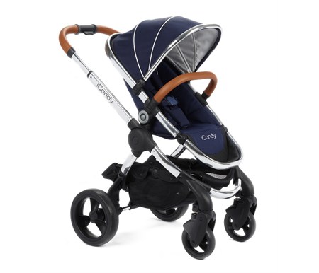 iCandy New Peach Stroller - Royal - Chrome Frame