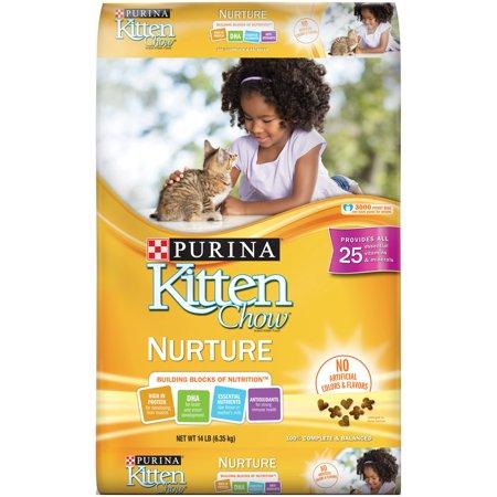 Purina Kitten Chow Nurture Kitten Dry Cat Food 14 Lb Dry Cat