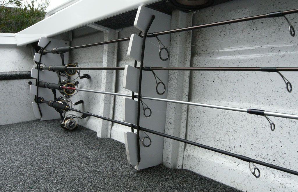 Horizontal rod storage boat s k p google b tprojekt for Vertical fishing rod holders