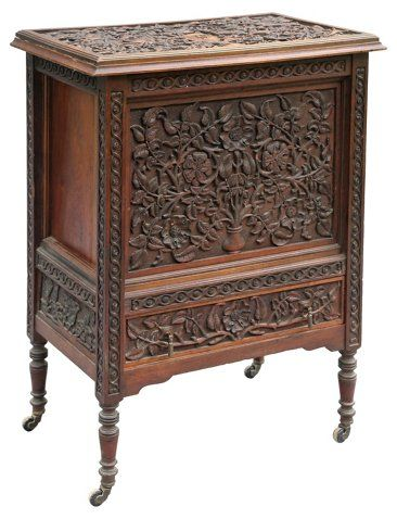 Flip-Top Rolling Bar Cabinet Now: $1,225.00 Was: $1,595.00 ...