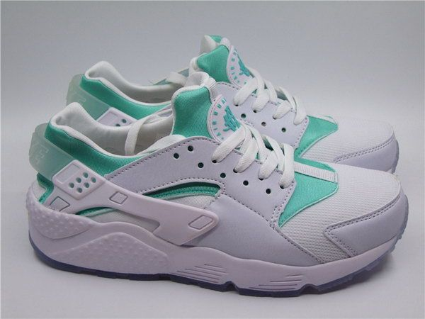 Womens & Mens (unisex) Nike Air Huarache White Mint Green 36-45 Hong